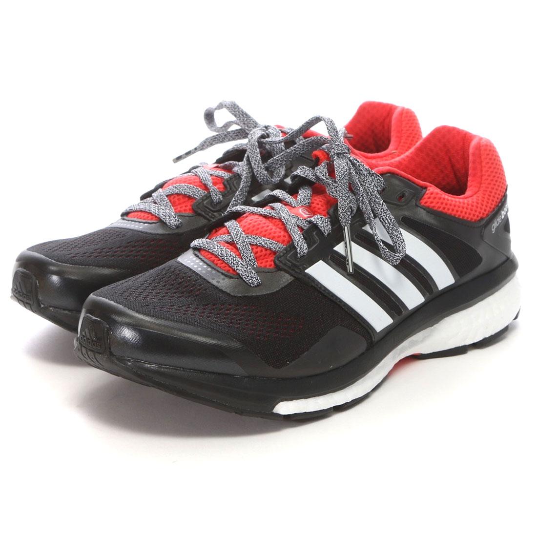 アディダス adidas ランニングシューズ エスノバ グライド ブースト 2 B40269 ブラック 4527